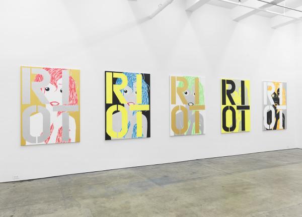 Installation view,  If It Works It´s Obsolete , Johannes Vogt Gallery
