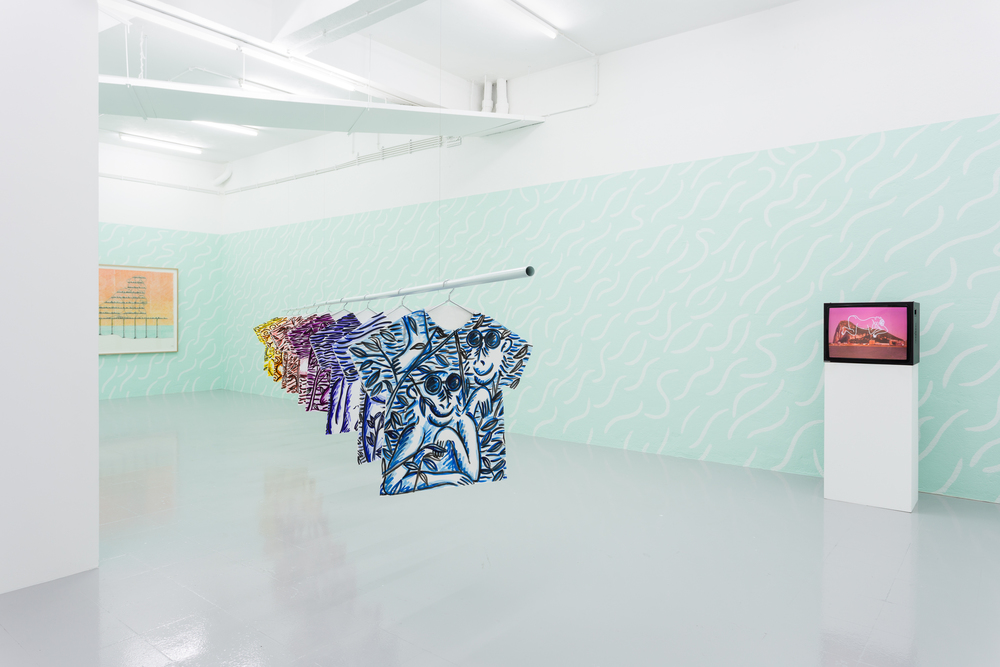 Installation view,  Super Gibraltar , Kunsthalle Lissabon