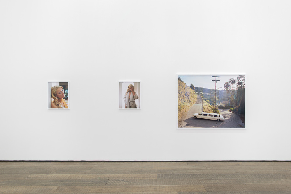 Installation view,  I am a Photograph , Galerie Rodolphe Janssen