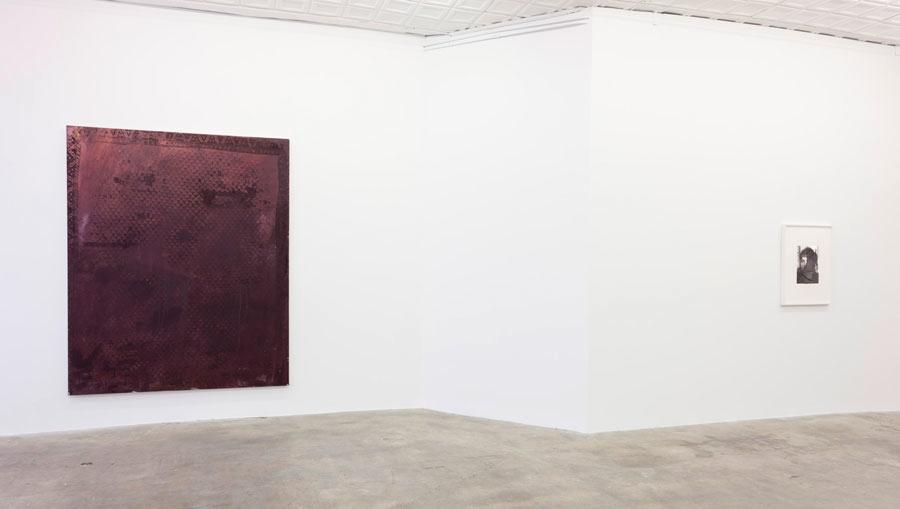Installation view, Rudolf Stingel, Gagosian Gallery Park & 75