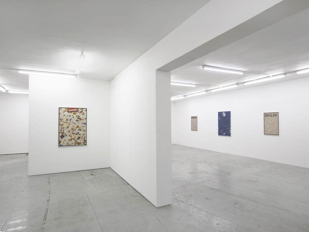 Installation view, Ryan McLaughlin, TraffiQ, Laura Bartlett Gallery.