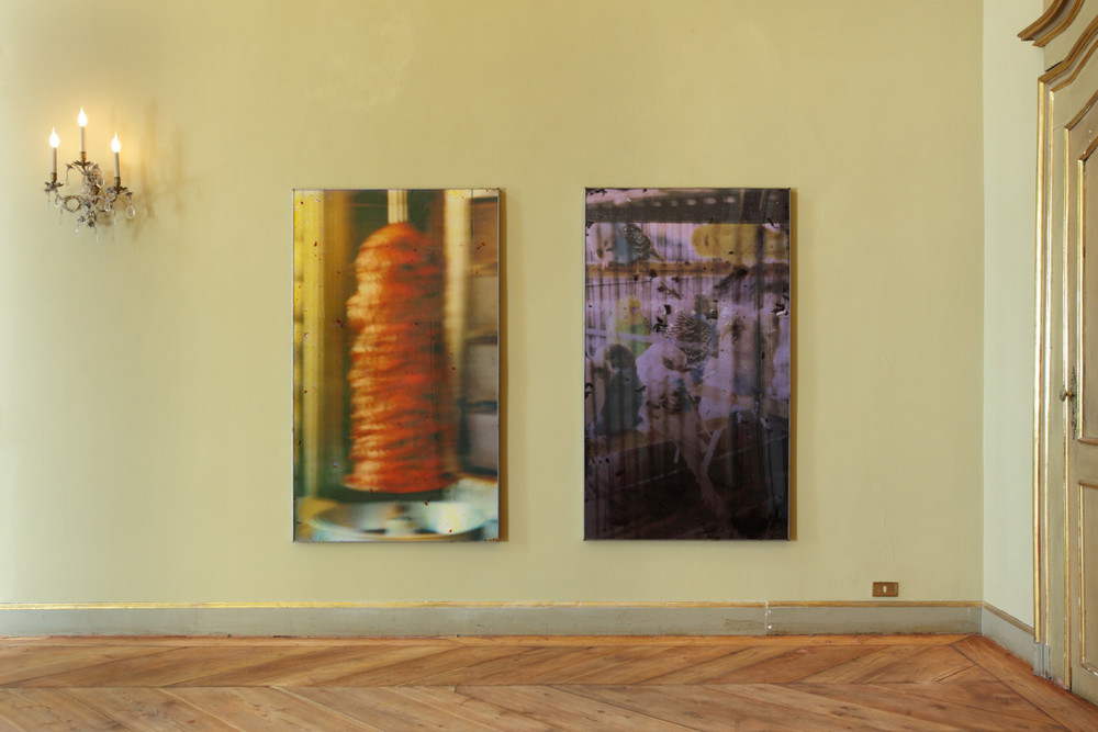 Installation view, The Third Act (Part I), Neochrome at Palazzo Saluzzo Paesana