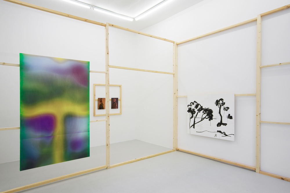 Installation view,  Windoes , The Composing Rooms