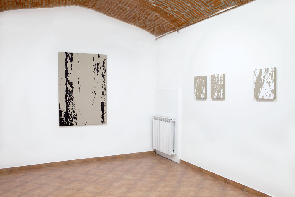 Installation view, Pedro Matos, Where there's something hiding beneath the surface, Bid Project.