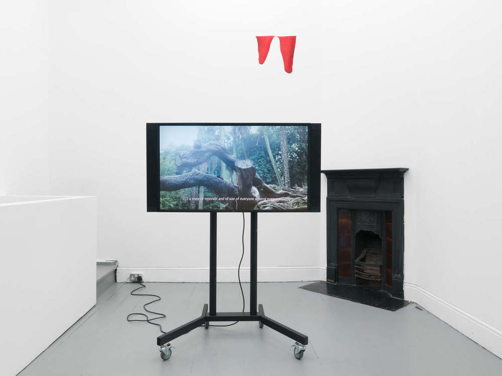 Installation view,  All the revolving cells , Tenderpixel