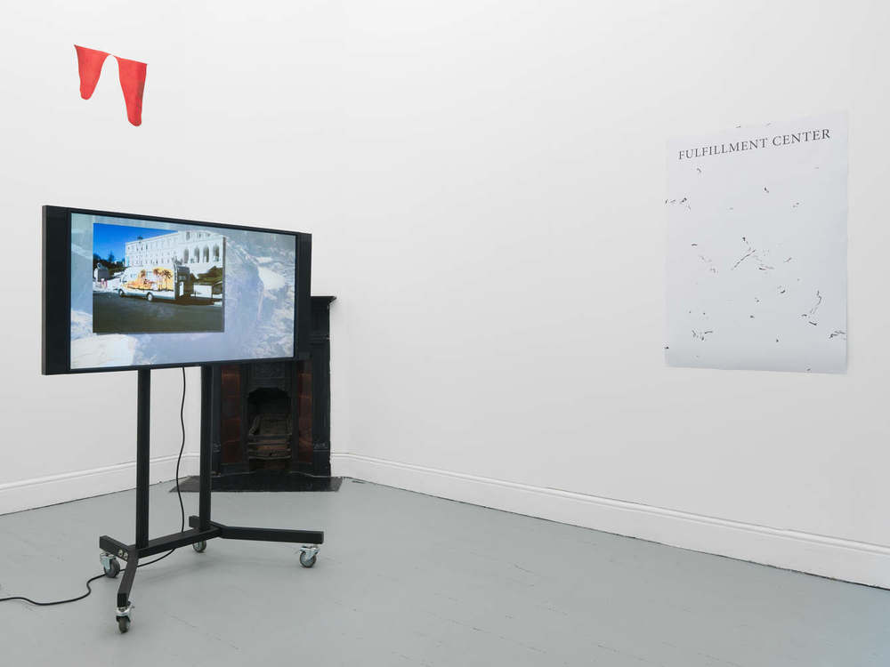 Installation view, All the revolving cells, Tenderpixel