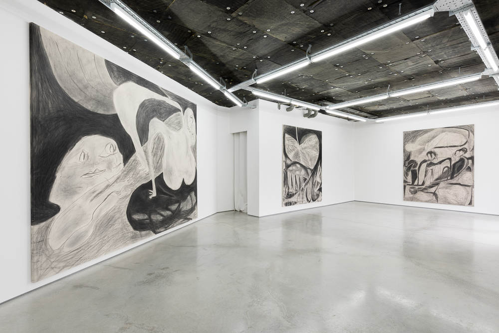 Installation view, Anthony Miler, Rod Barton