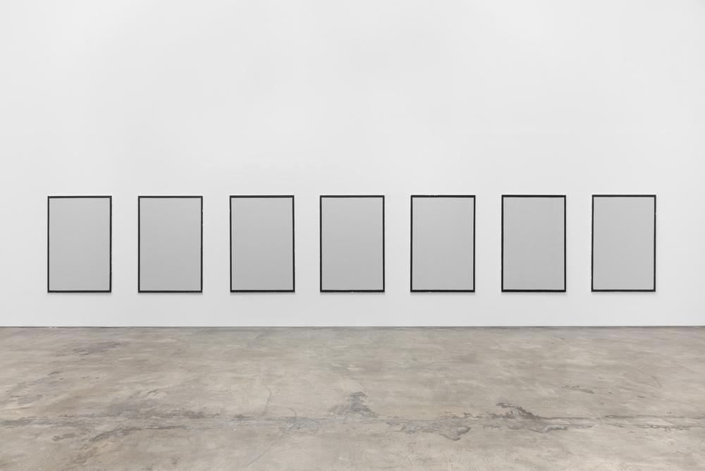 Installation view, Lúcia Prancha, Chasing the invisible, Baginski, Galeria/Projectos