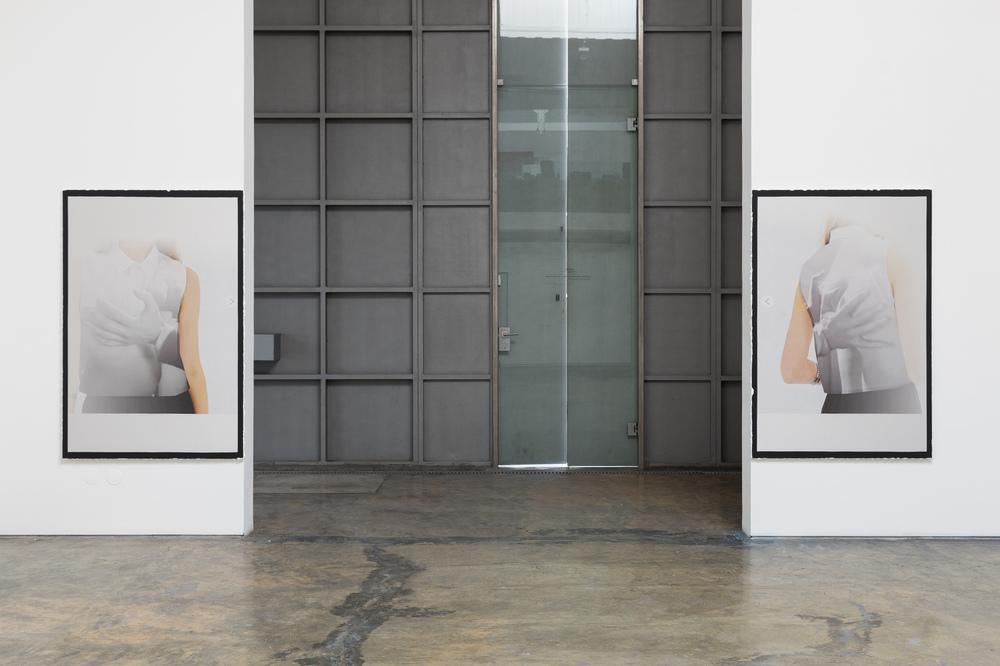 Installation view, Lúcia Prancha,Chasing the invisible, Baginski, Galeria/Projectos