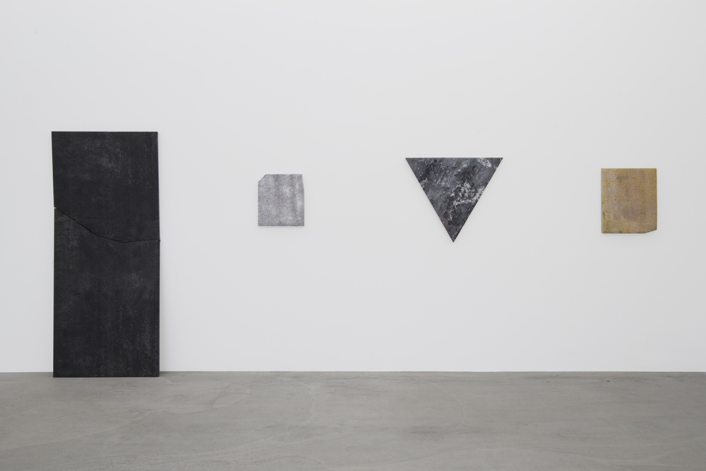Installation view, Mikkel Carl,  Language Dissolves as a Product of Love Begins,  Annaelle Gallery