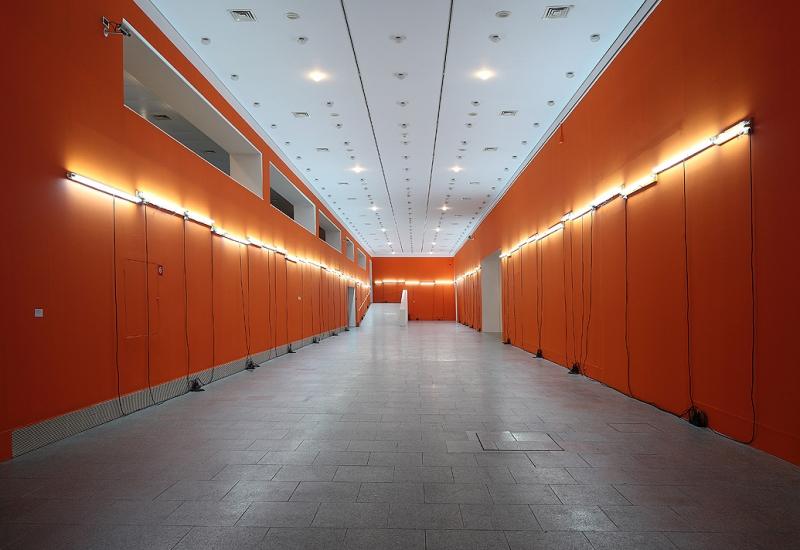 Installation view, Pedro Cabrita Reis, Museu Berardo, 2011