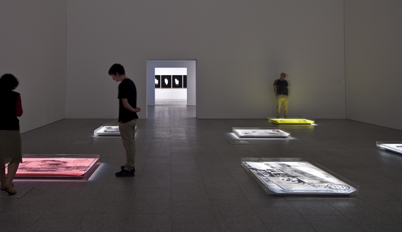 Installation view, Délio Jasse,  BES Photo 2014 , Museu Berardo, photo by David Rato