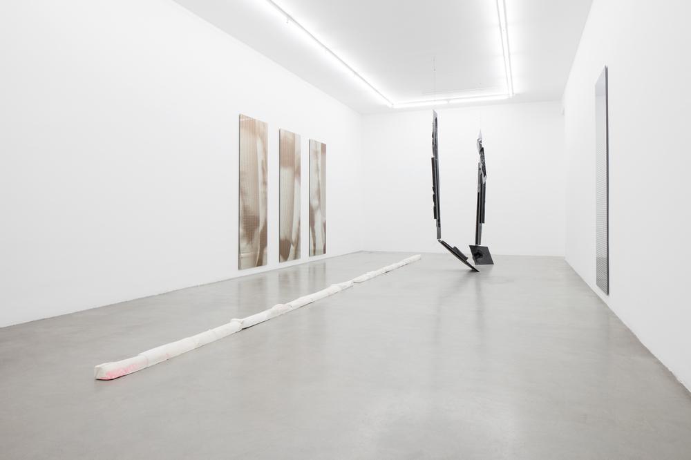 Installation view, Armando Andrade Tudela, Post-Folklore, Francesca Minini