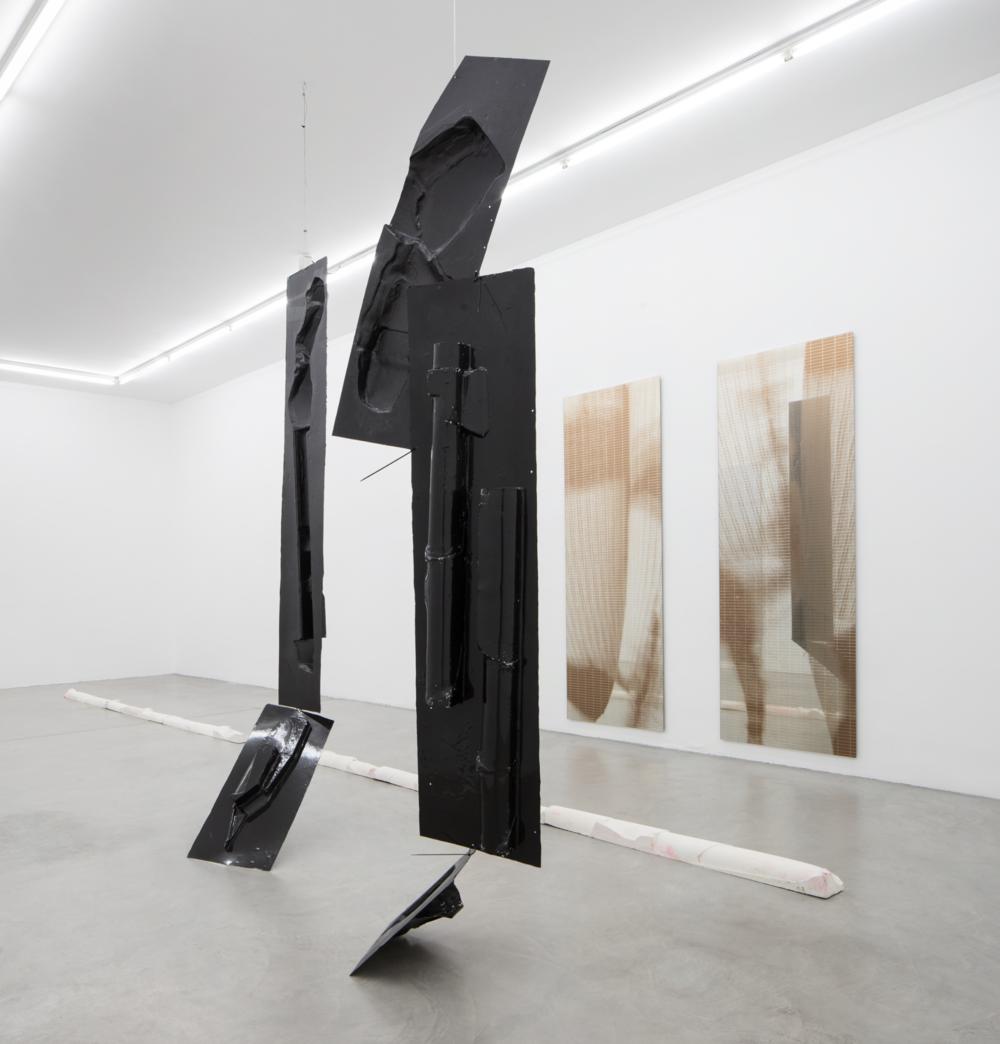 Installation view, Armando Andrade Tudela, Post-Folklore , Francesca Minini