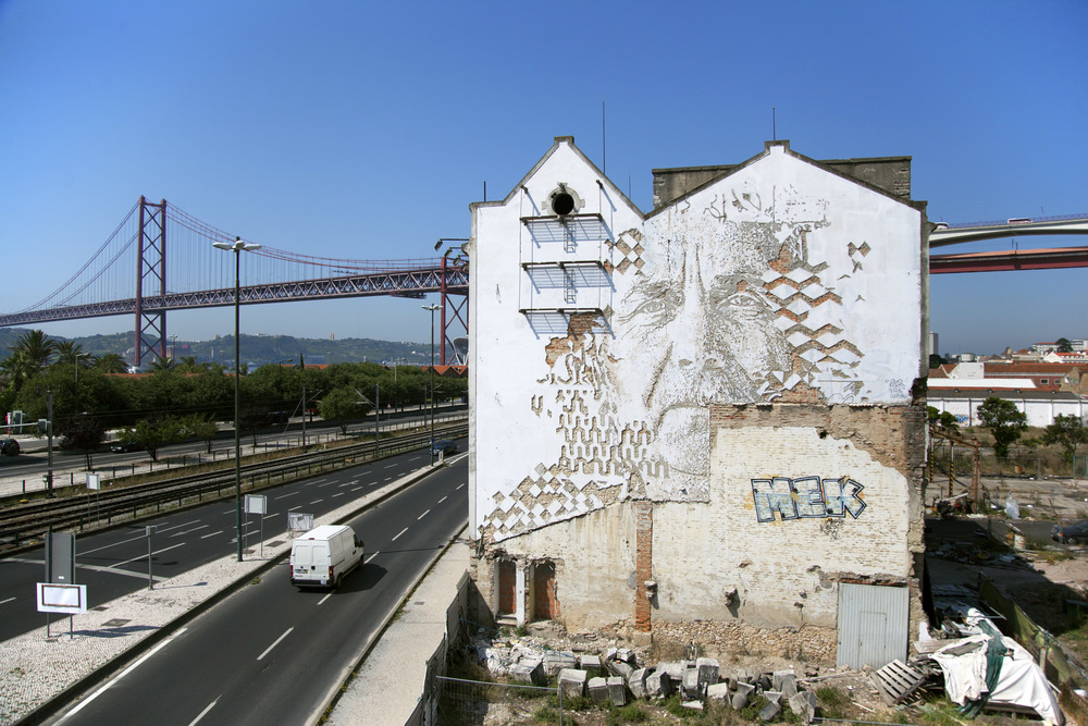 Alexandre Farto, Lisbon, 2014, Photo by Alexander Silva