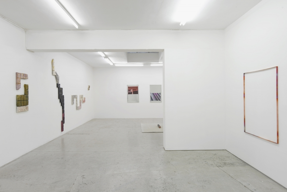 Installation view,  DRAWN BY ITS OWN MEMORY , Laura Bartlett Gallery