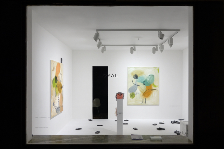 Installation view, Hush Hook, LOYAL Gallery