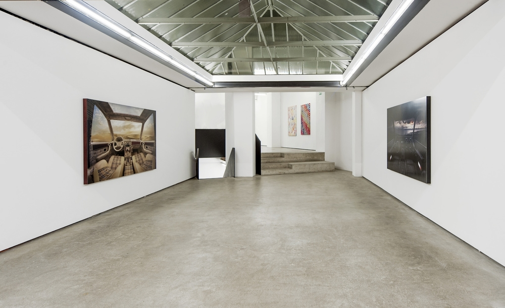 Installation view, Young Americans, Franz Josefs Kai 3.