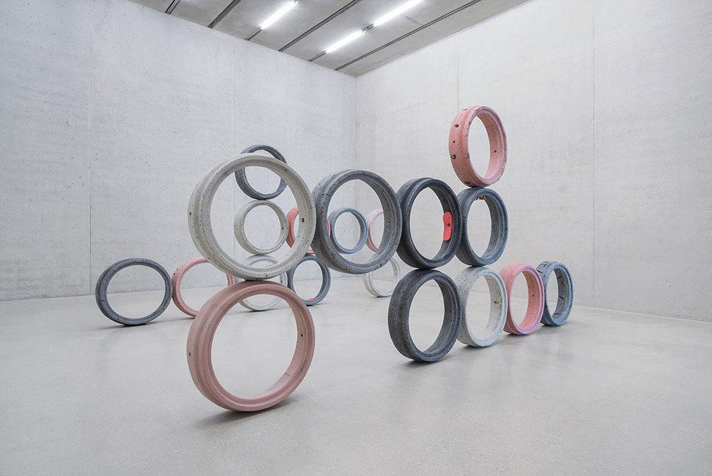 Installation view, Nicolas Lobo, Leisure Pit , Pérez Art Museum Miami