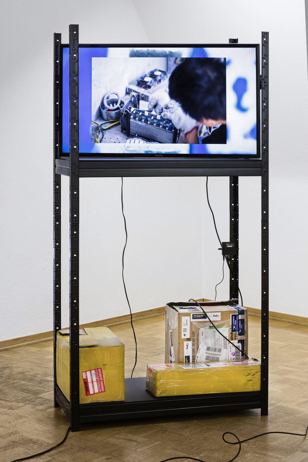 Yuri Pattison, the ideal (v. 0.2), 2015,  Bielefelder Kunstverein.