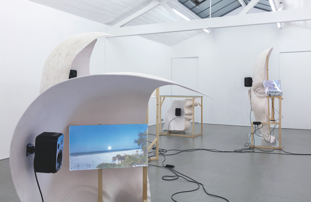 Installation view, Anne de Vries, Submission, Cell Project Space