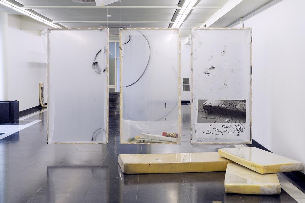 Installation view, Antoine Donzeaud,Hometown Blues, DASH