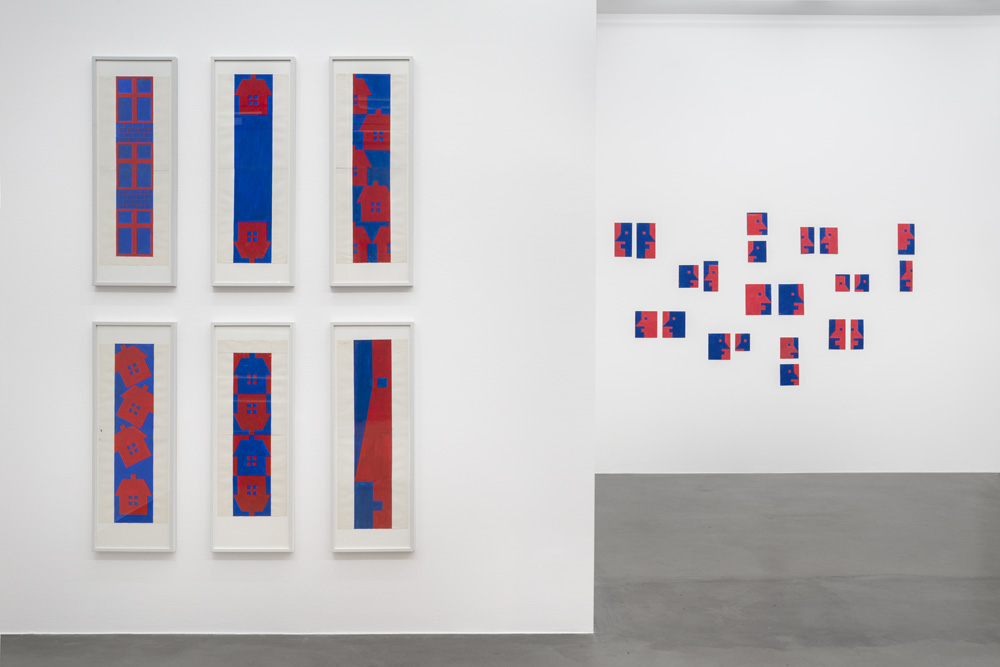 Installation view, Albert Mertz, Croy Nielsen.