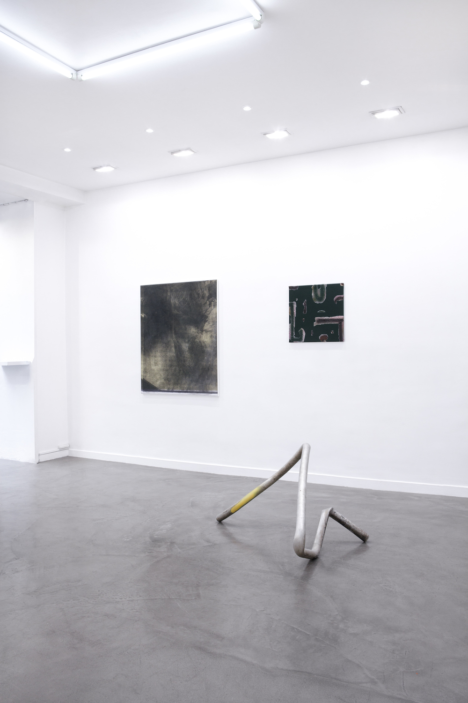 Installation view,  (Idéale) Geographie , Galerie Derouillon