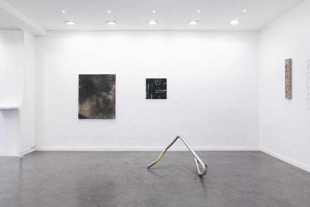 Installation view, (Idéale) Géographie , Galerie Derouillon
