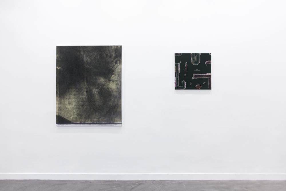 Installation view, Manor Grunewald and SKKI ©, (Idéale) Géographie , Galerie Derouillon