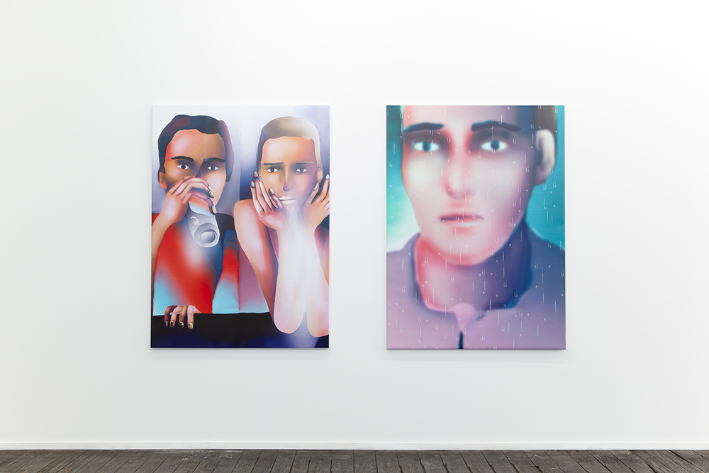 Installation view, Louisa Gagliardi, A Perfect Lie , Galerie Jeanroch Dard