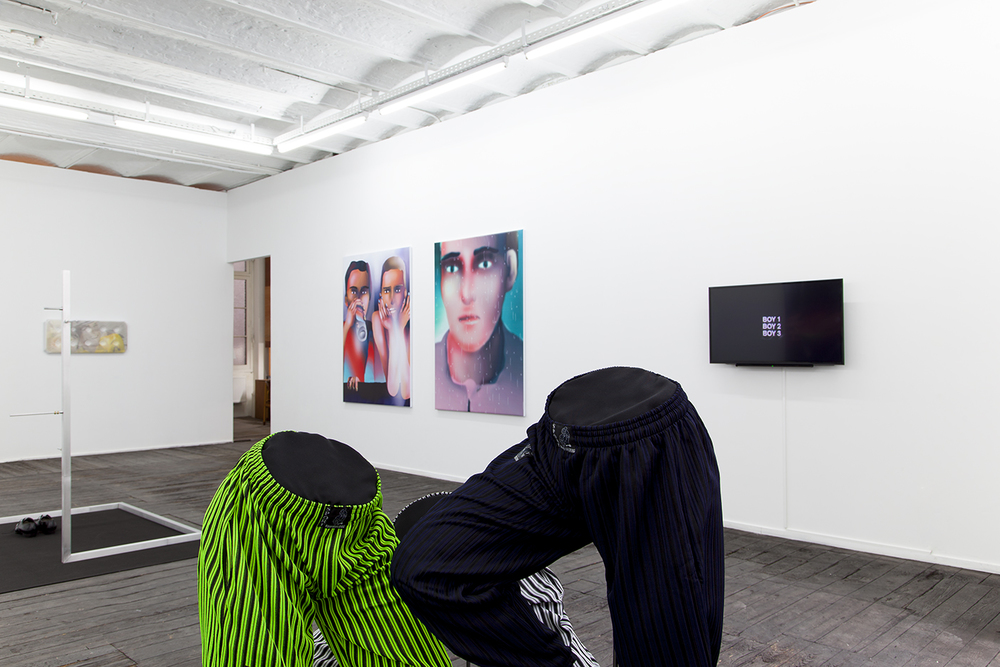Installation view,  A Perfect Lie , Galerie Jeanroch Dard