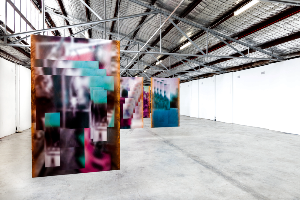 Installation view, Ry David Bradley,  NTBD (Not To Be Digitized) , Tristian Koenig Sydney Off-site Project.
