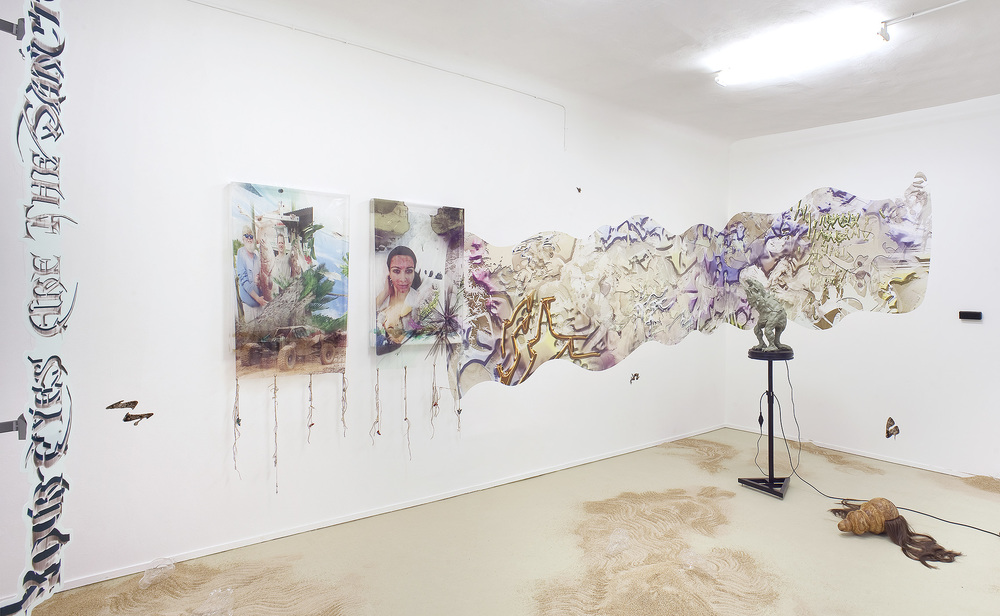 Installation view, BB5000, ℋy℘erℜruⅈn , Davide Gallo