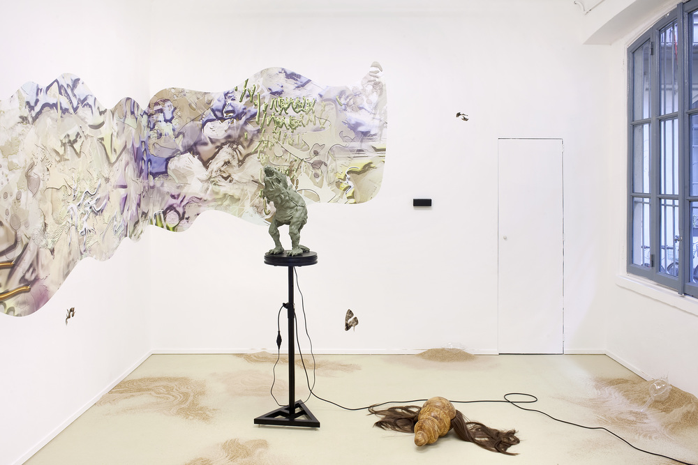Installation view, BB5000,  ℋy℘erℜruⅈn , Davide Gallo