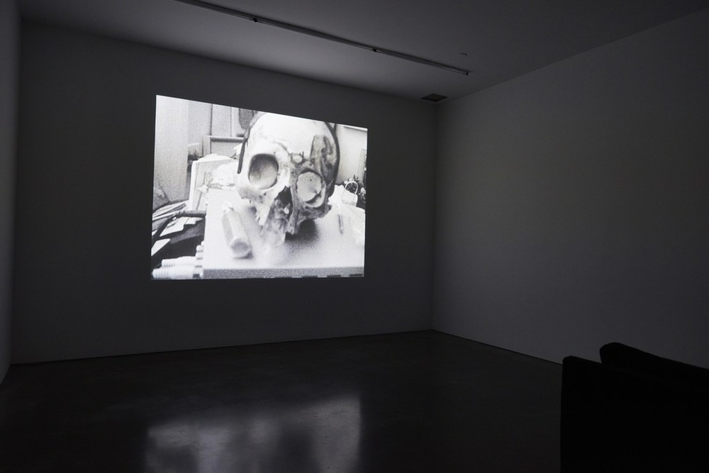 Installation view, Dash Snow,  Freeze means run , The Brandt Foundation