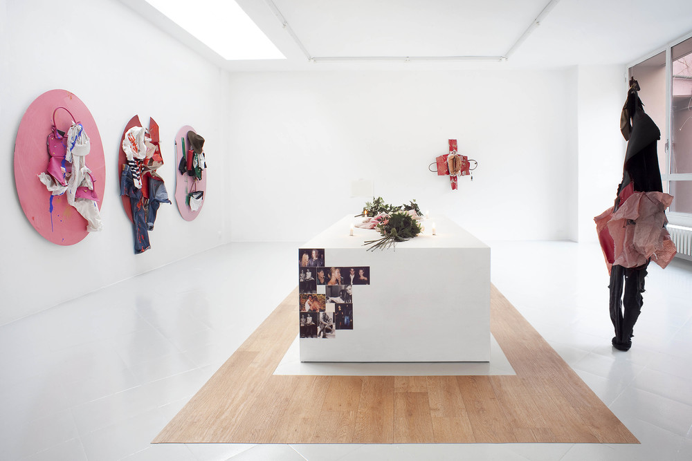 Installation view, Yves Scherer,  Couples , Studiolo