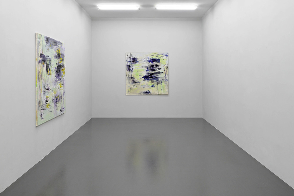 Installation view, Louis Cane,  Barley Sugar , T293