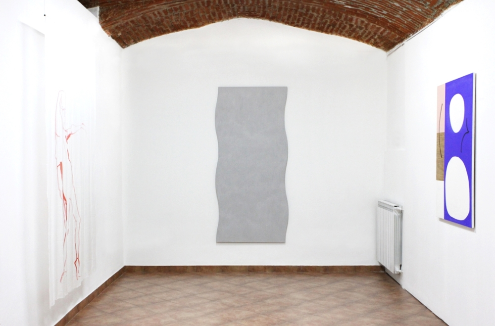 Installation view, A Natural Syntax for Rhythmic Forms and Semiotic Rotations, Bid Project