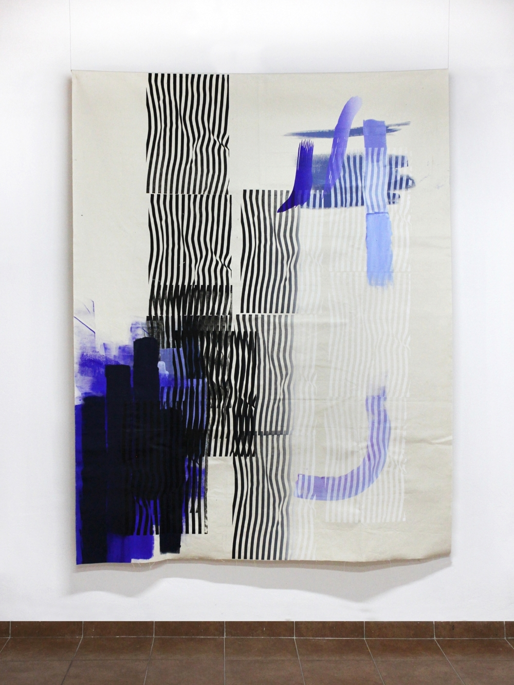 Fay Nicolson, Work that Weaves, 2015