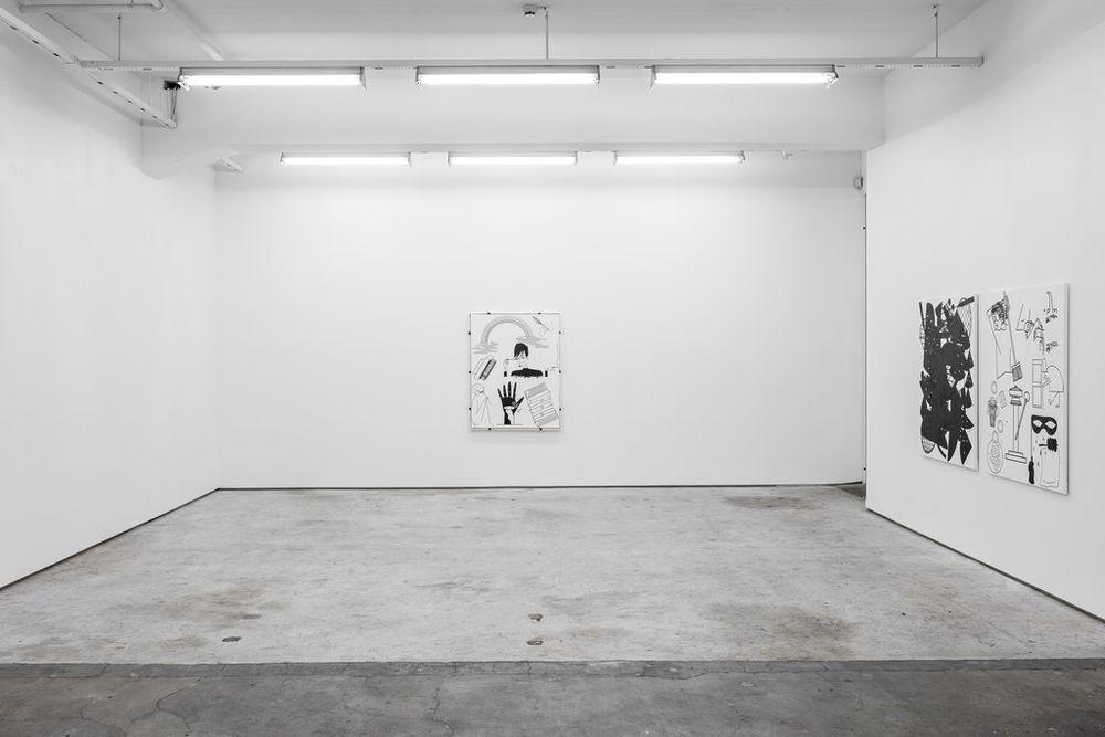 Installation view, Jaya Howey,Stay in Bed, Standard (Oslo)
