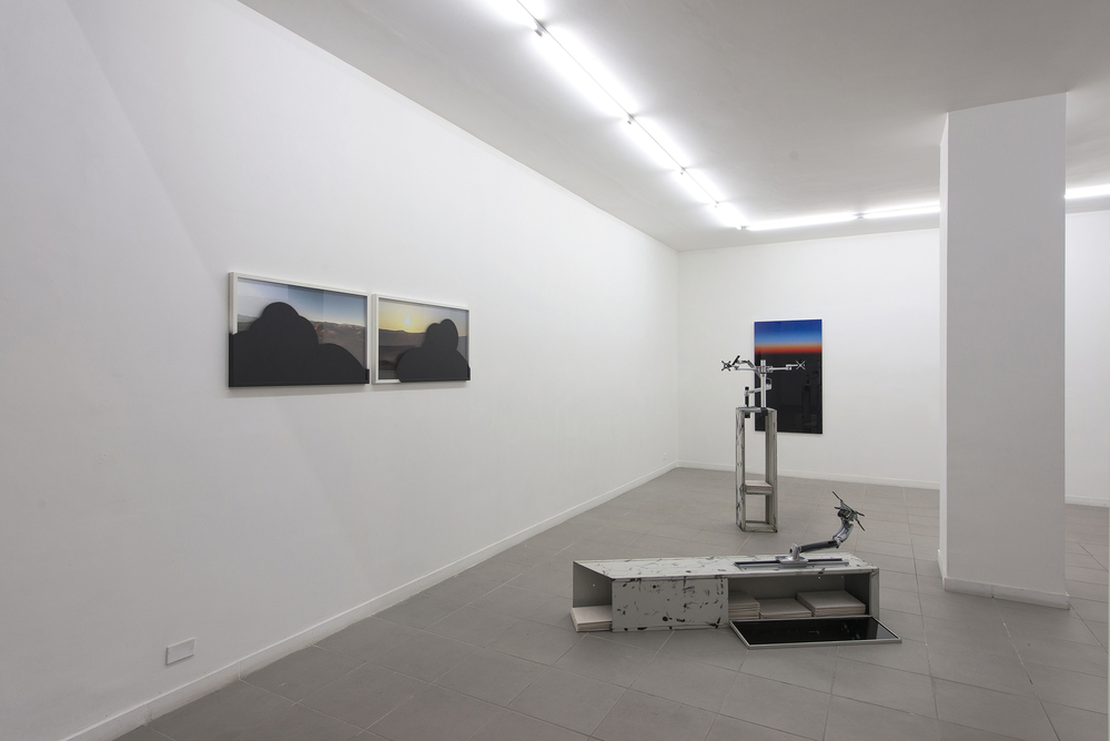 Installation view, Marco Strappato,  Over Yonder , The Gallery Apart