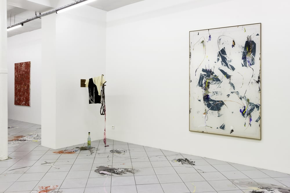 Installation view,  A Moveable Feast , Galerie Jérôme Pauchant