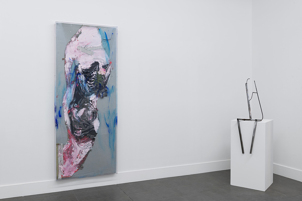 Installation view,  Grey , Brand New Gallery
