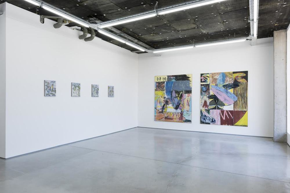Installation view, Jon Pilkington, Ryan Nord Kitchen, Rod Barton, London.