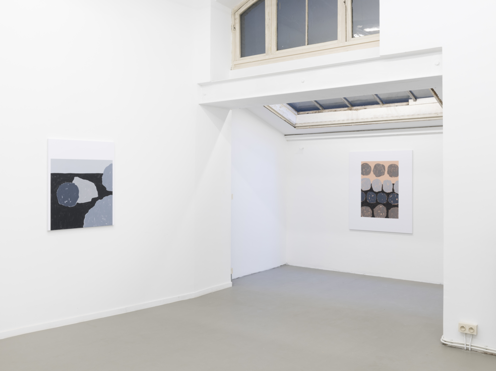 Installation view, Luc Fuller, Painting/Drawing, Rod Barton Gallery