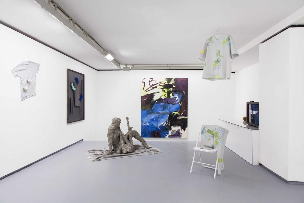 Installation view,  You will find me if you want me in the garden* , Galerie Valentin, Curated by Domenico de Chirico.