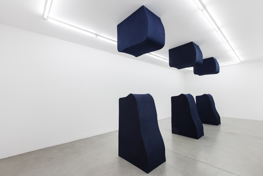 Installation view, Landon Metz,  & , Francesca Minini, Milan