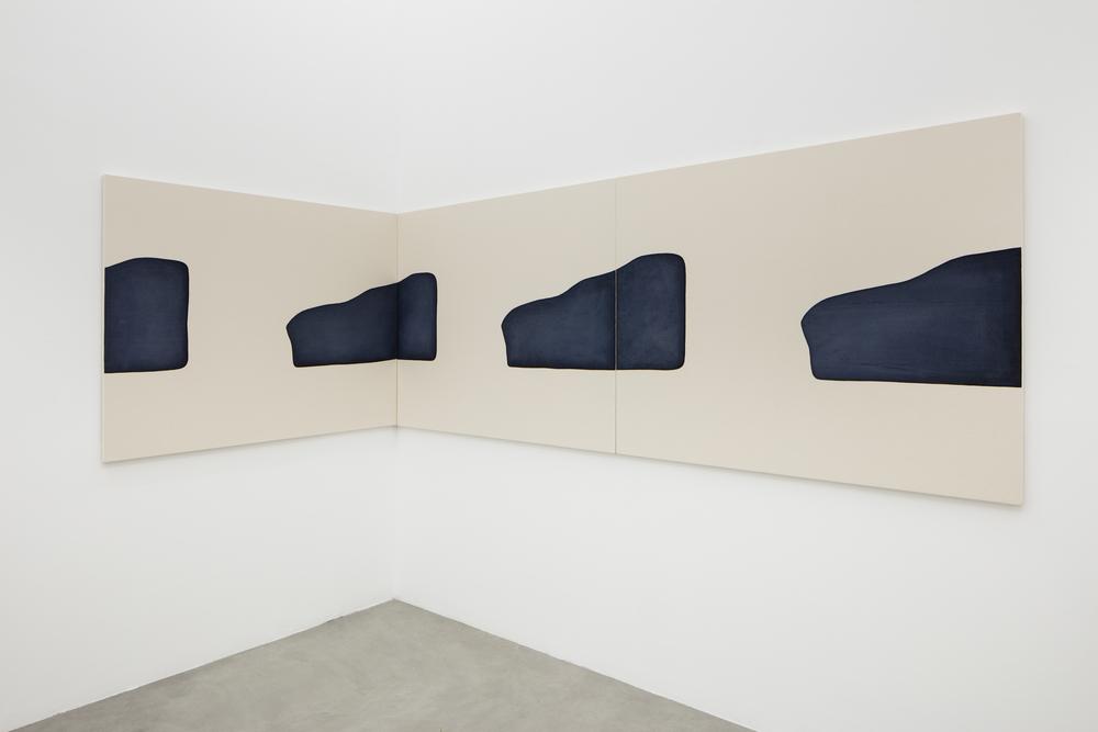 Installation view, Landon Metz,&, Francesca Minini, Milan