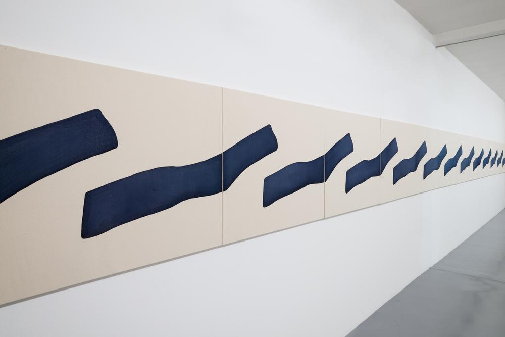 Installation view, Landon Metz,&, Galleria Massimo Minini, Brescia